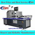 cnc de exportación de hierro de acero en frío de tubos de la máquina de corte