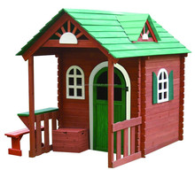 garden cubby house kids wooden playhouse in outdoor