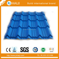 competitive Fashion Color coaed Corrugated Roofing galvanized steel Sheets for workshop