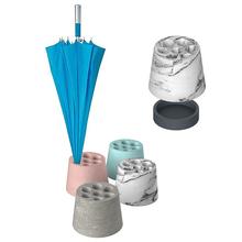 Hot sale latest popular wholesale cheap ceramic concrete umbrella rack for decoration