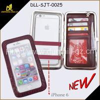 2015 fancy PU wallet Cell Phone Case