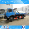 changjie high quality automatic alarm vacuum pump fecal suction truck sale