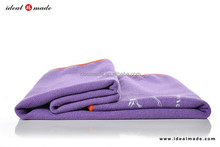 microfiber custom making brands yoga towel printed