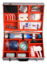 Emergency First Aid Kit Go One's Rounds Type