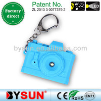 (BS-045) Sound led keychain brands logo mini Camera