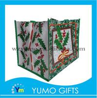 2015 fashionable decorations christmas gift shopping non woven bag