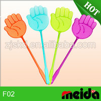 High quality mini fly swatters hand shape flyswatter mosquito swatter