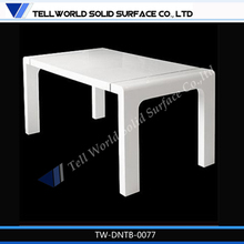 TW New design artificial stone dinning table at favourable price,home furniture for sale