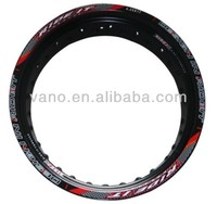 durable and high quality motorcycle alloy rims motorcycle 20 inch rims