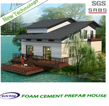 Low Cost Small 3 bedroom prefab modular home/ modular kit house