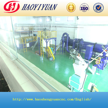 No pollution of large assembly line for diseased livestock and purltry disposal equipment/machine