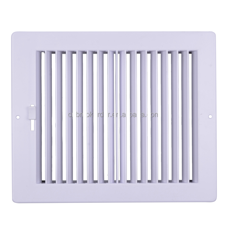 Rectangular ceiling air conditioning linear grilles
