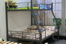 Modern design popular adult bunk bed
