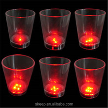 Party Souvenirsled night club flashing led cup with high quality