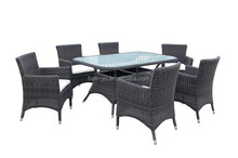 high quality garden dining table set rattan furniture