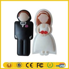 Alibaba china supplier new product bride and groom usb flash drive with hight quality