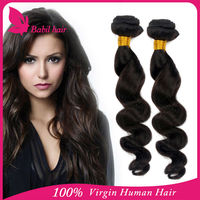Alibaba hot sale Indian virgin loose wave angel hair products