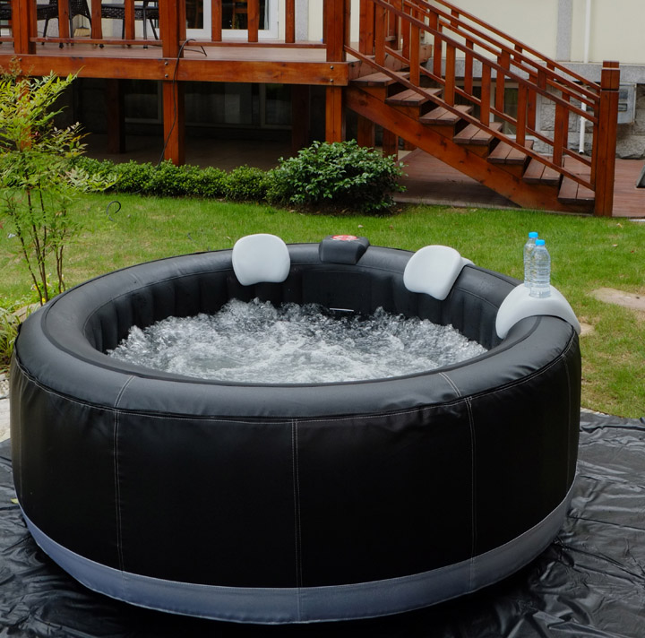 Aqua spa ce saa certified soft tub whirlpool soft tub hot - Soft tube whirlpool ...