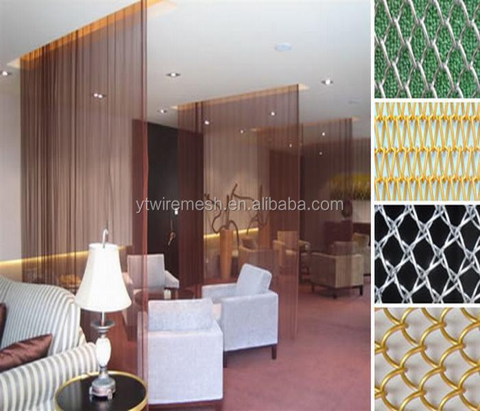 Metal Decoration Fabric Drapery