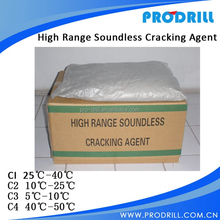 Soundless Cracking Agent , Non Explosive Demolition Agent, Expansive Mortar