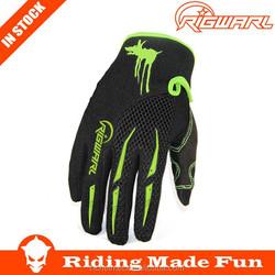 RIGWARL Dirt Bike Sports Black High Quality Off Road Bike Gloves Gloves