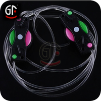 China Market Gold Glitter Party Leds Shoelace For Shoes