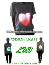 LUV-MS LUV Media Shirt LED T shirt lighting for liveshow,stage,event etc project
