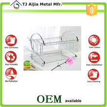 standing kitchen Metal Wire Dish Drainer