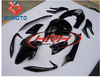 Black Chinese Motorcycle Bodywork Fairing FRP Motor bike body kits for sale Fits for PCX 125 motorbike