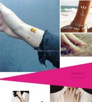 Rhinestone body sticker jewelry design sticker tattoos