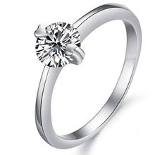 Professional Factory Cheap Wholesale simple design platinum plated silver rings wholesale price dj907