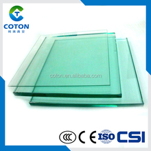 Clear and Color Polished Tempered glass (toughened glass) use in window,shower door,Tempered Glass Flat/Curved