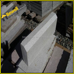 Cheap light gray g603 granite edging border stone garden edging charcoal granite set