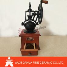 Custom home use manual coffee grinders parts