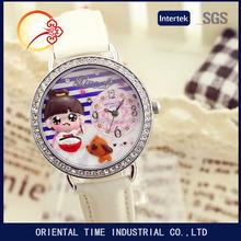 adolescenti di cristallo polimero corea del mini fatti a mano al quarzo orologi per le ragazze