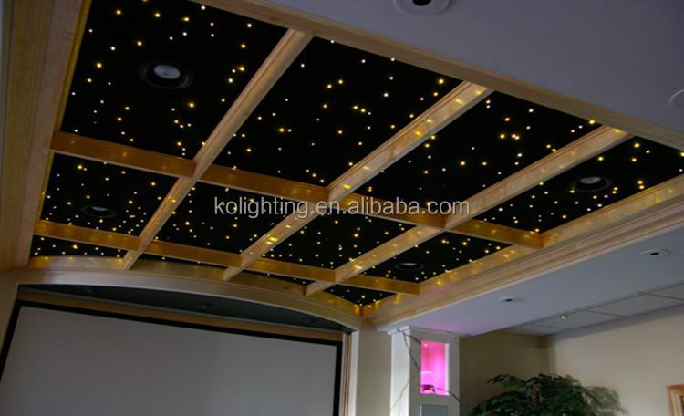 bricolage ciel toil plafond d coration petite battery operated 5 w rgb led fiber optique. Black Bedroom Furniture Sets. Home Design Ideas