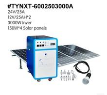 600w power/250Ah/output 3000w portable solar generator
