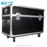 2015 ACS newest style plasma tv cases aluminum display flight case with insert foam/flight case for sale