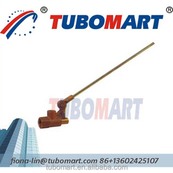 hot sale brass float valve for floating toilet valve