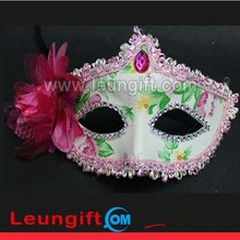 Newest fashion flower design Carnival sexy decoration mask with crystal