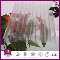 Haining Gensin Grade A 25mm polycarbonate transparent multiwall sheet/polycarbonate polyglass sheet /pc eraction partition