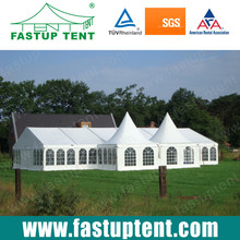 2015 New Customized Event Party Tent for wedding party with Decoration/Furniture /Floor