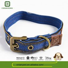 Custom Design Pets Outdoor Embroidered Dog Collar For Pet