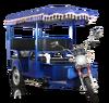 OEM seat of auto electric pedicab rickshaw/ e rickshaw motor kit