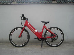 New Design Eco-friendly Mini Li-ion battery MTB style Electric Chopper Style e Bicycle (KCMT021)