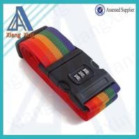 Nylon password lock luggage belt china wholesale