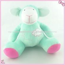 linda costumbre de peluche de felpa de juguete de los animales ovejas