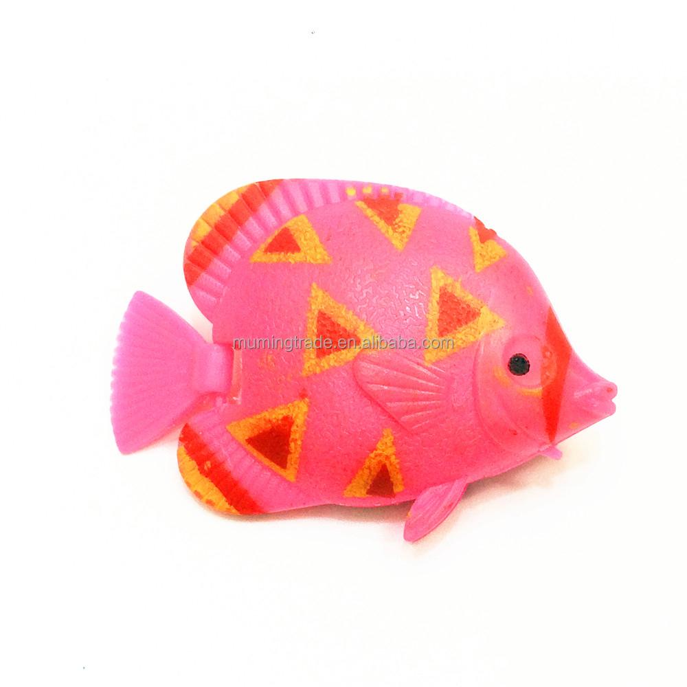 artificial tropical fish marine plastic swimming fish for