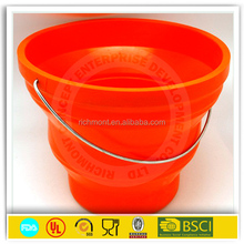Stainless Steel Ice bucket with handle