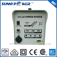 Sunny power foldable solar panel 100w home solar lighting system